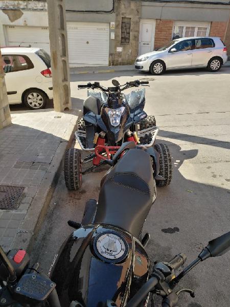 Quad gasgas hp wild 450cc