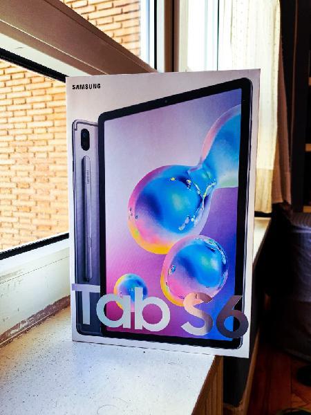 Tablet samsung galaxy tab s6 lte nueva de 128 gb