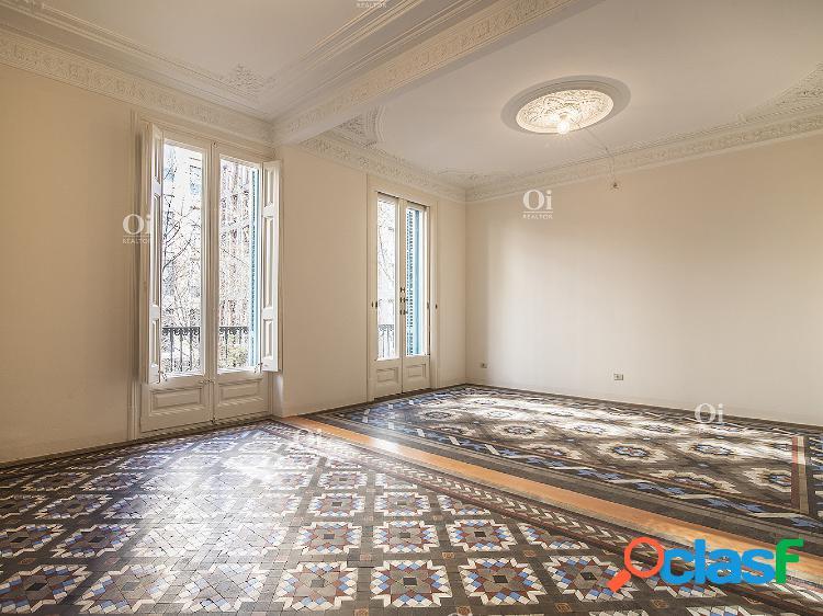Hermoso piso en alquiler en la zona más exclusiva del Eixample Derecho. 3