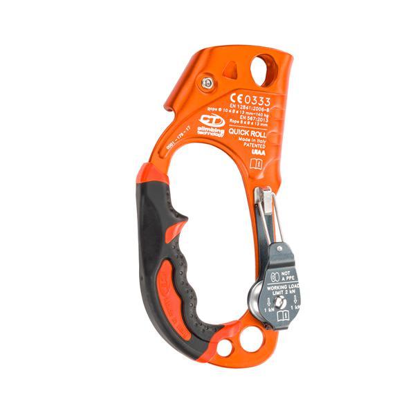 Climbing technology quick roll ascender + pulley - naranja