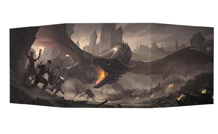 El resurgir del dragón: pantalla del director de juego