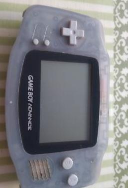 Game boy advance (gba) gris transparente
