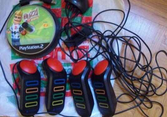 Juego buzz y 4 mandos (playstation 2)