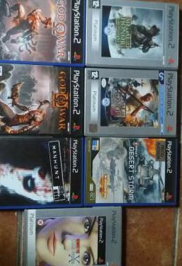 Pack war ps2 (7 juegos)