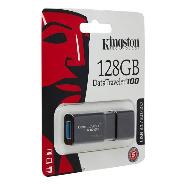 Pendrive kingston datatraveler dtg100g3 128gb 3.0