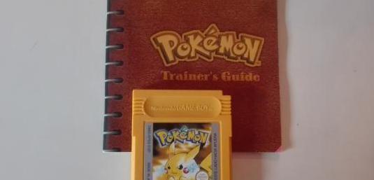 Pokemon amarillo, game boy