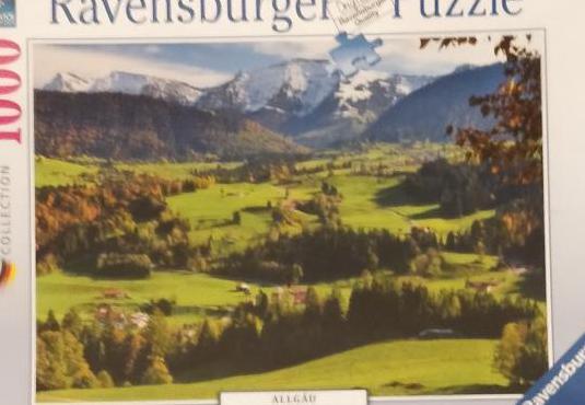 Puzzle 1000 piezas ravensburger sin abrir.