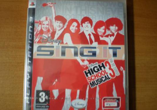 Sing it - disney high school musical 3 ps3 nuevo.