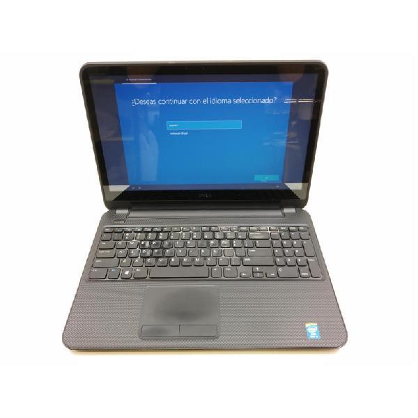 Tara teclado extranjero: portatil dell 3537 i5-4200u 6 ram