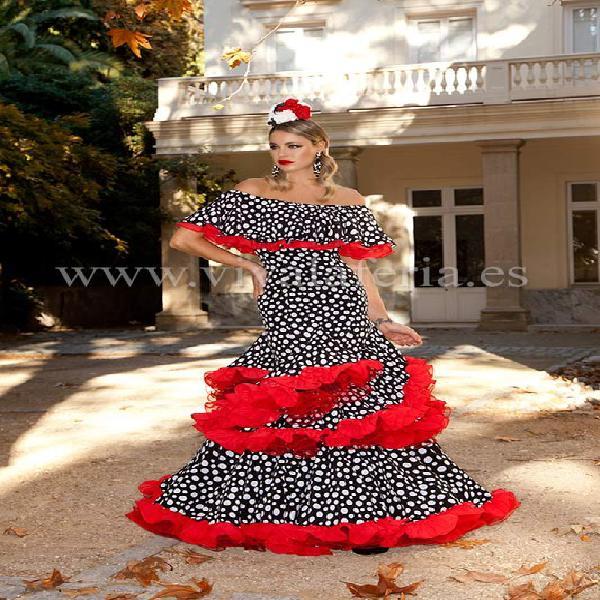Traje de flamenca suspiro de guadalupe moda flamenca