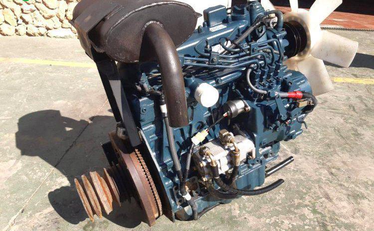 Venta de motor kubota v1505 4ccl en valencia