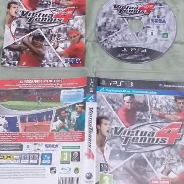 Virtua tennis 4 ps3 play3 nuevo move play