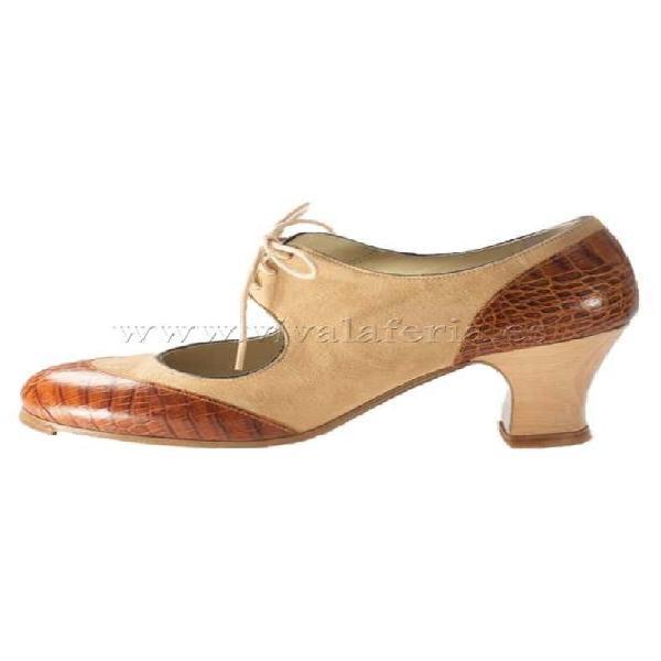 Zapato de baile flamenco cordoneria begoña cervera