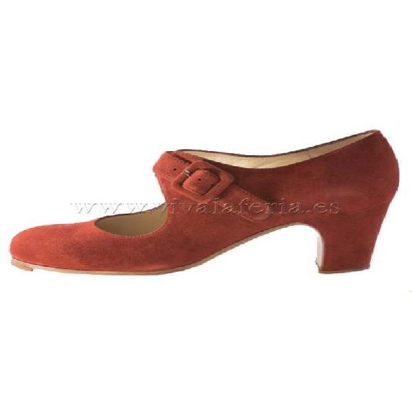 Zapato de baile flamenco tablas begoña cervera