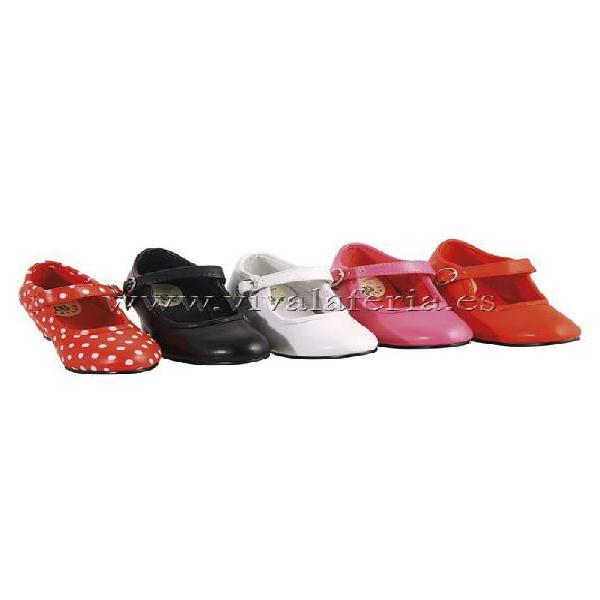 Zapatos clásicos de baile flamenco