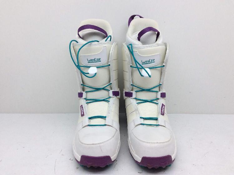 Botas snowboard wed ze blancas