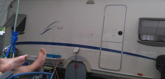 Caravana burstner 500 ts