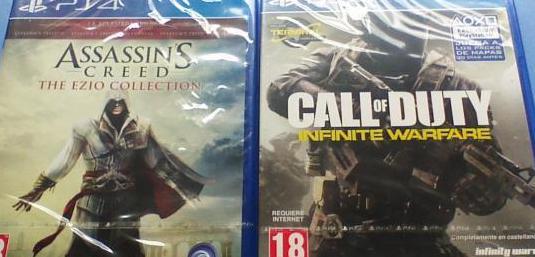 Dos juegos play 4 nuevos