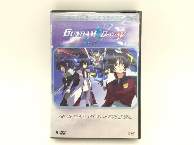 Gundam seed destiny complete collection 1/2 sin español