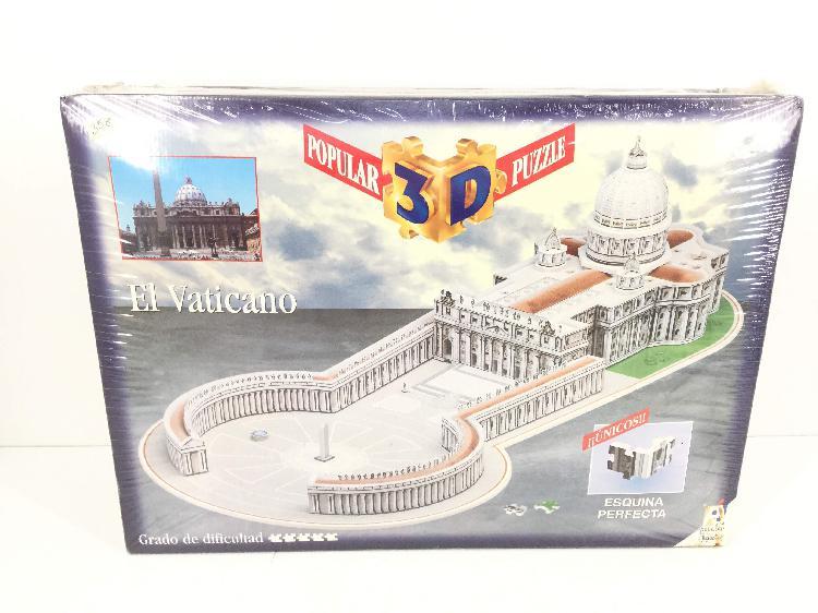 Juegos de mesa otros puzle 3d vaticano