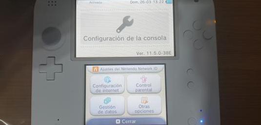 Nintendo 2ds completamente nueva