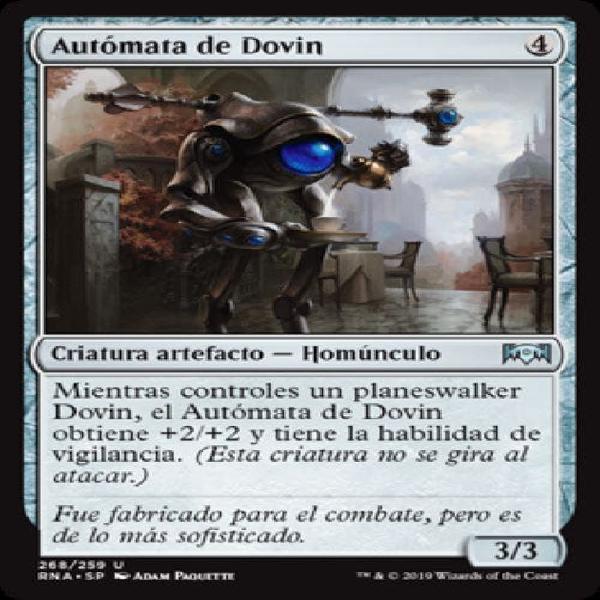 Autómata de dovin - mtg - cartas magic - x3