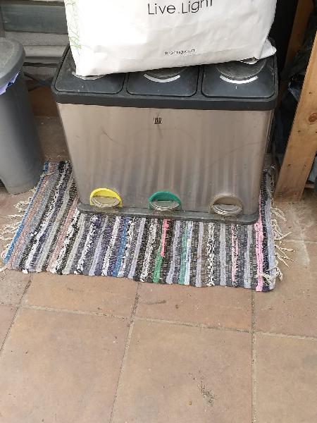 Basura reciclaje - mudanza