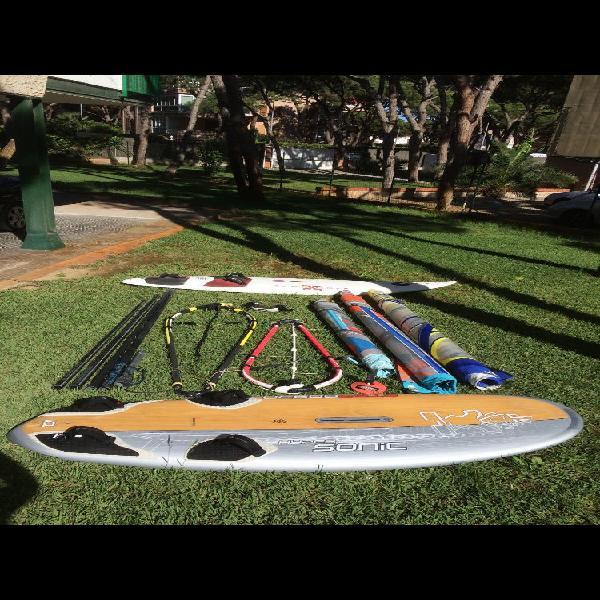 Equipos de windsurf
