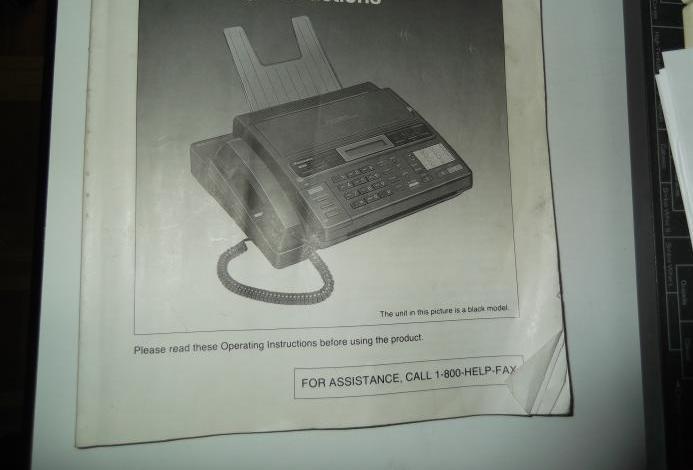 Fax, contestador y teléfono kx-f230