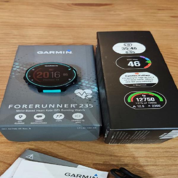 Garmin forerunner 235 como nuevo
