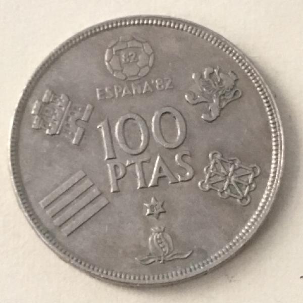 Moneda 100 pesetas. año 1980