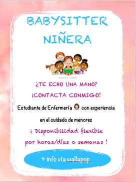 Niñera / babysitter
