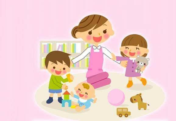 Niñera cuidadora niños