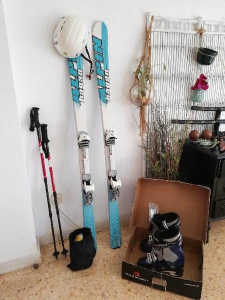 Pack esquí de travesia 165. botas 27'5.