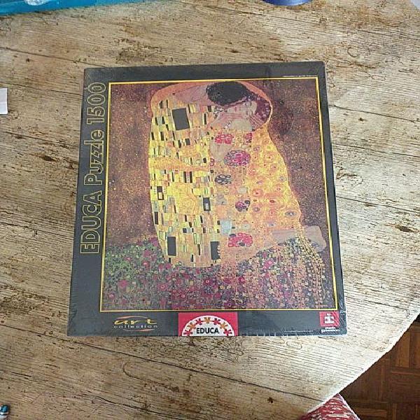 Puzzle 1500 piezas.