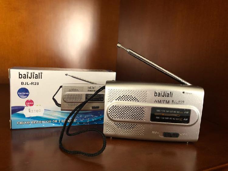Radio pequeña am/fm