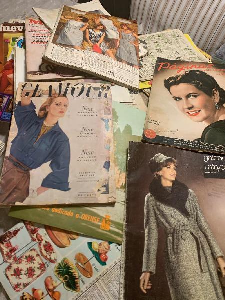 Revistas antiguas años 50/60