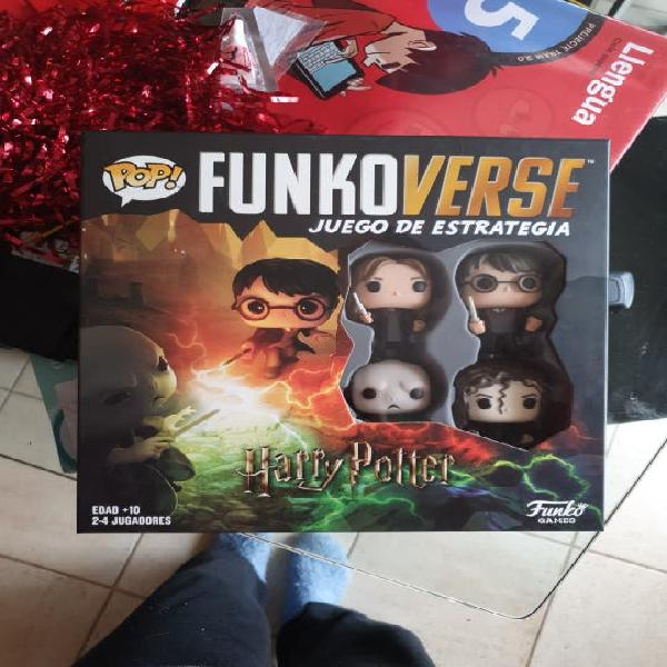 Juego funkoverse harry potter