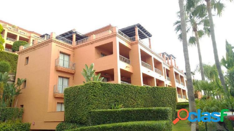 Oportunidad bancaria - precioso piso en royal flamingos, benahavís, en muy buen estado.