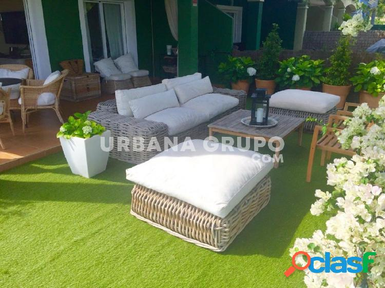 Chalet pareado vistas al golf