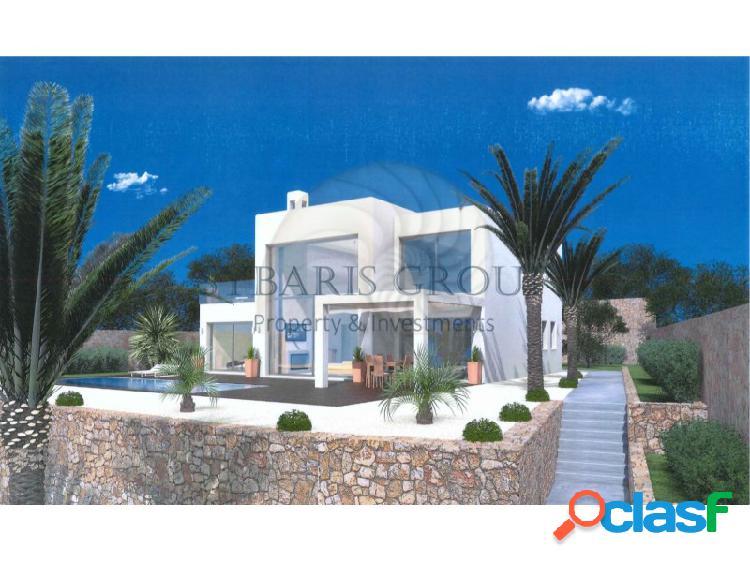 Proyecto de vivienda unifamiliar 3 dormitorios en zona exclusiva de javea con vistas al mar. costa blanca