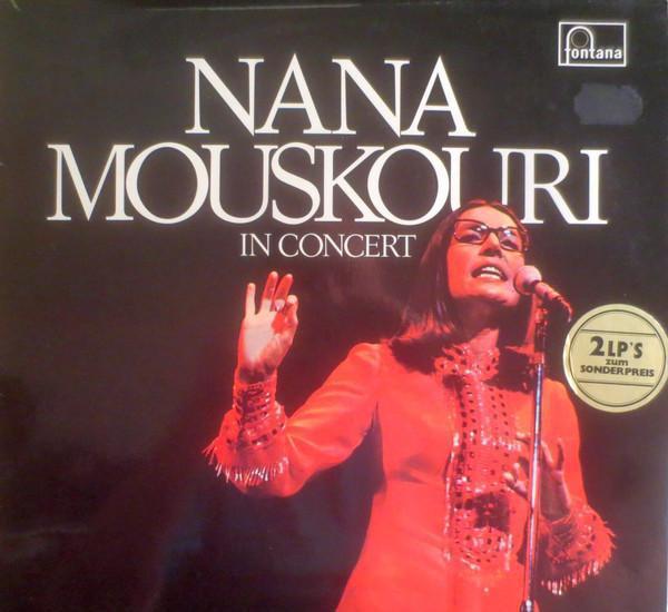 2 lp nana mouskouri – in concert - fontana 6651 003