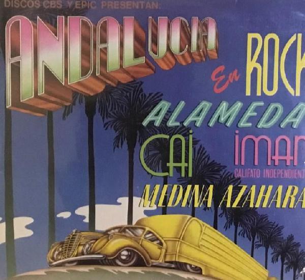Andalucía en rock (alameda, medina, azahara...)