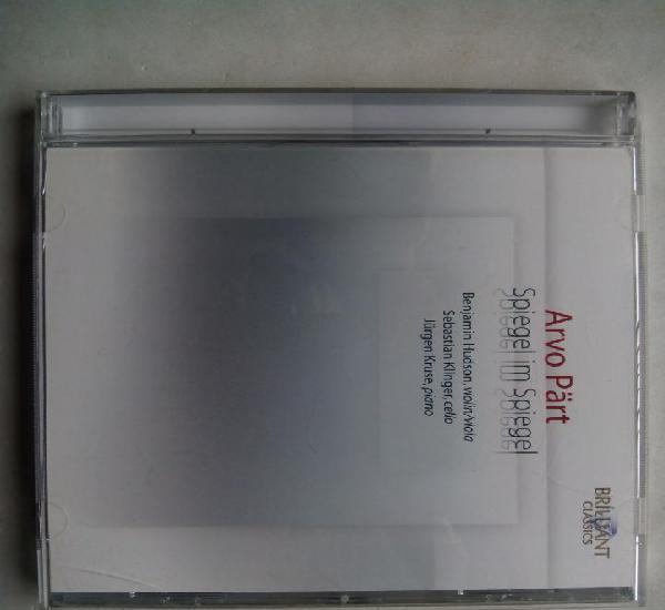Arvo pärt. spiegel im spiegel. cd brilliant classics 9170.