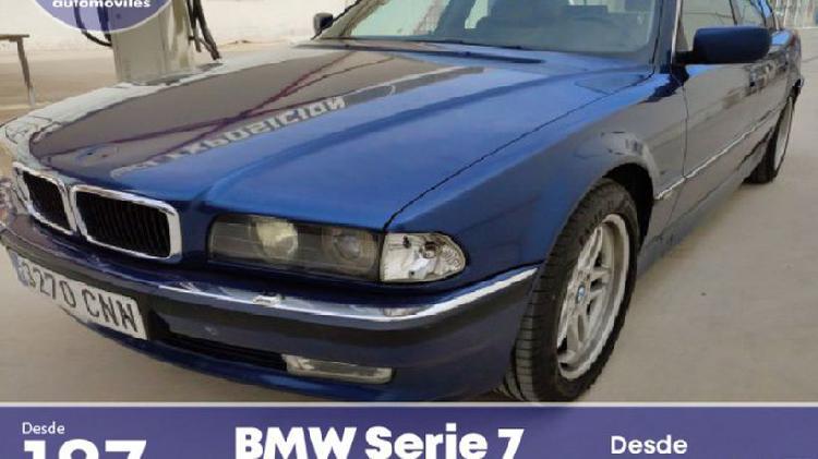 Bmw serie 7 740i aut.