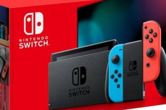 Consola nintendo switch azul neon/rojo neon 2019