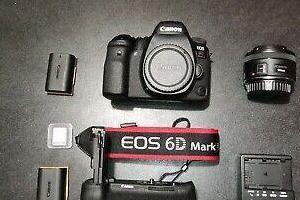 Canon 6d mark ii con extras