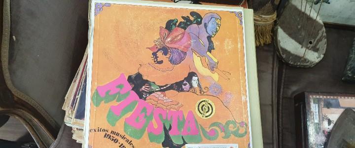 Carpeta 10 discos fiesta exitos musicales años 1930 1960