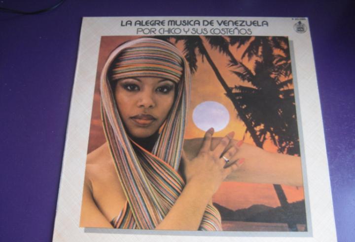 Chico y sus costeños lp hispavox 1978 la alegre musica de