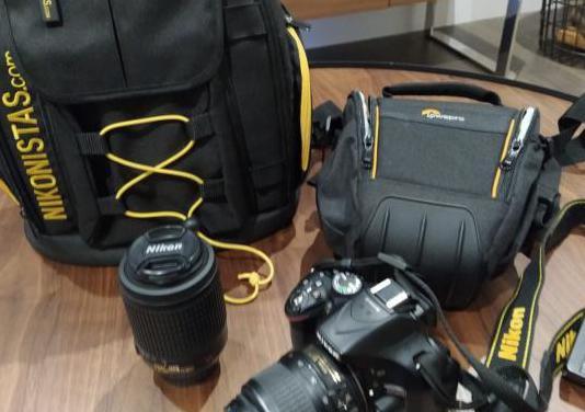 Cámara de fotos nikon d5200 accesorios